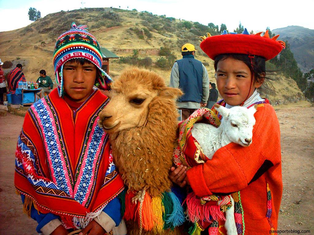 inca niños bolivia